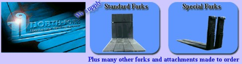 NORTH-FORK - STANDARD AND SPECIAL FORKS